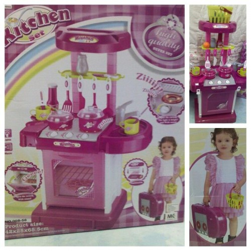Kitchen set toy ii with lights and sound comel lote for Tukang kitchen set