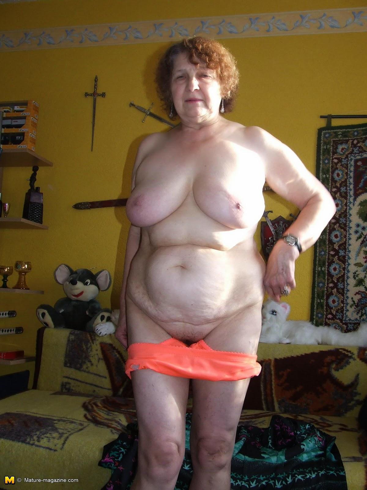 фото подробно голых русских старушек