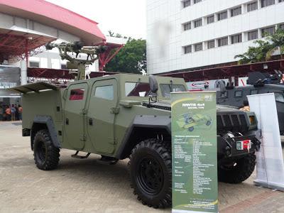 Kendaraan Tempur Komodo Varian Mistral - PT. Pindad