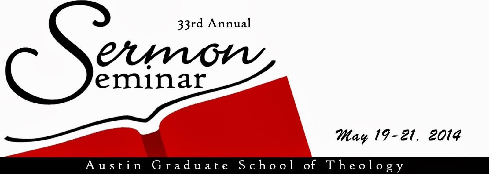 Sermon Seminar