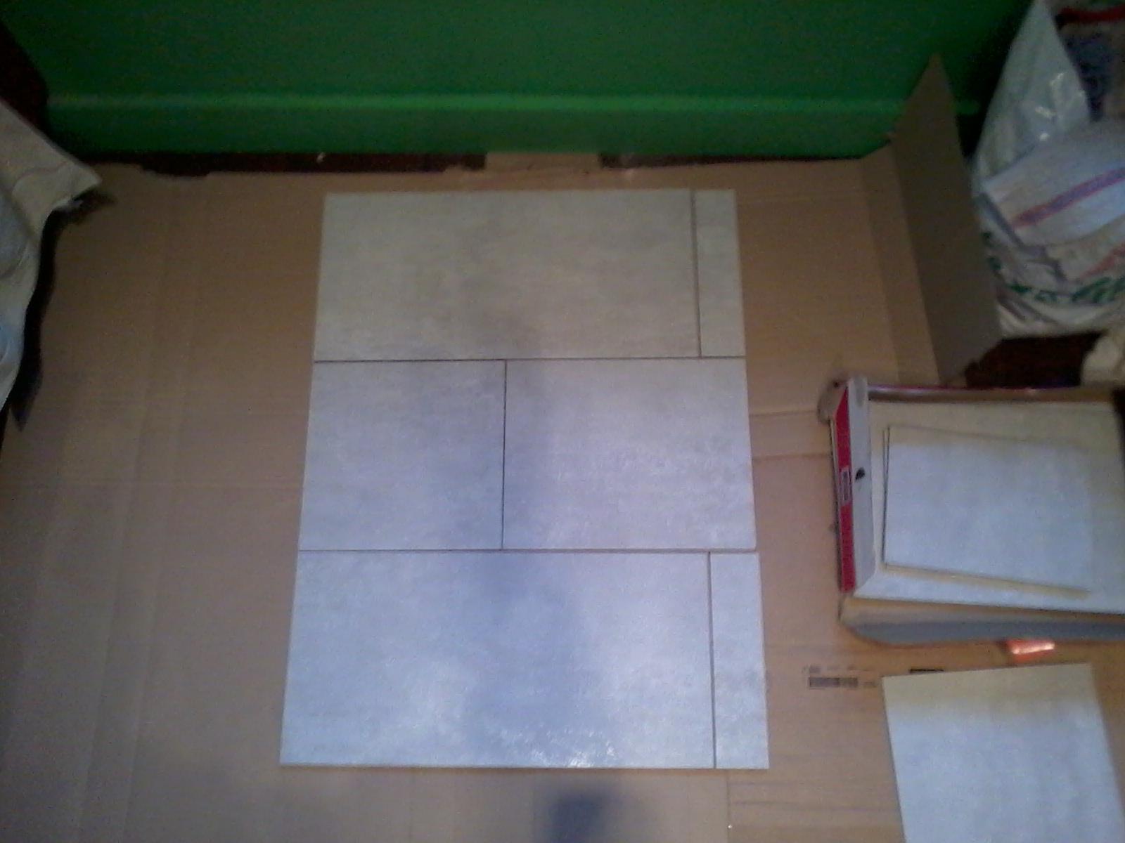 Cr dence de cuisine 30x60 gris clair rectifi pose horizontale joint coup julienbugnetcarrelage - Credence cuisine gris clair ...