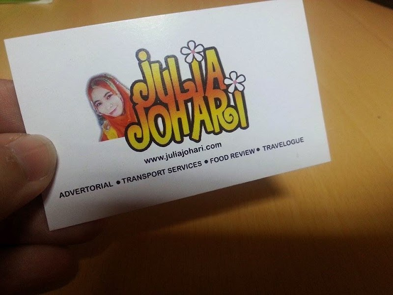 Official Business Cards Blogger