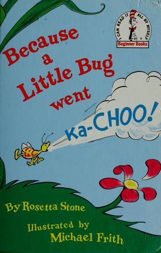 because a little bug went kachoo pdf