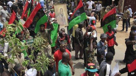 Nigeria: Biafra Protest