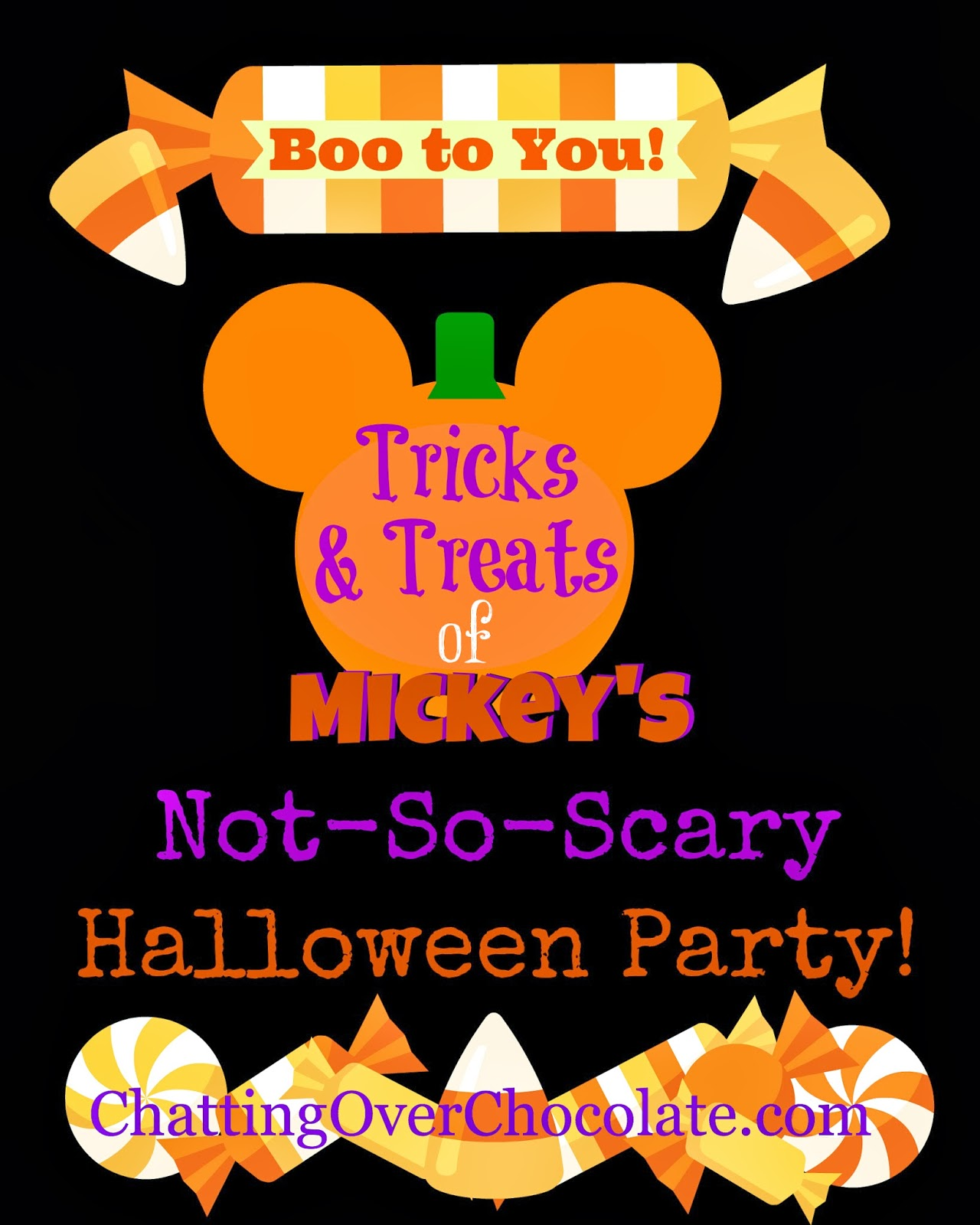 Chatting Over Chocolate: Magical Monday: 10 Tricks & 10 Treats of ...