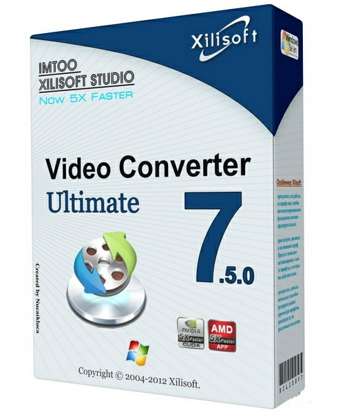 Xilisoft Video Converter Ultimate 7.8.18 Key Crack Free Download