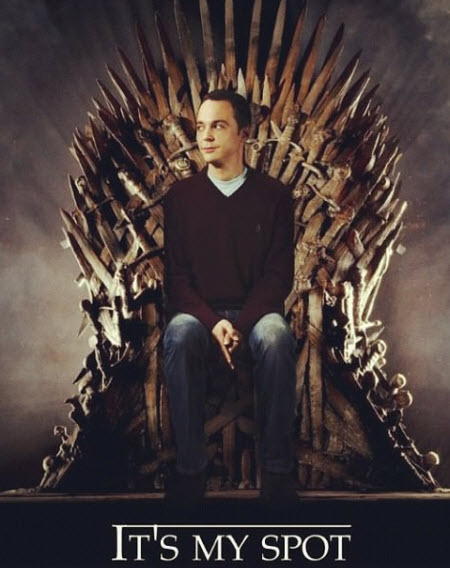 Game Of Throne: Este es mi lugar!