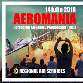 Ne vedem la AEROMANIA 2018