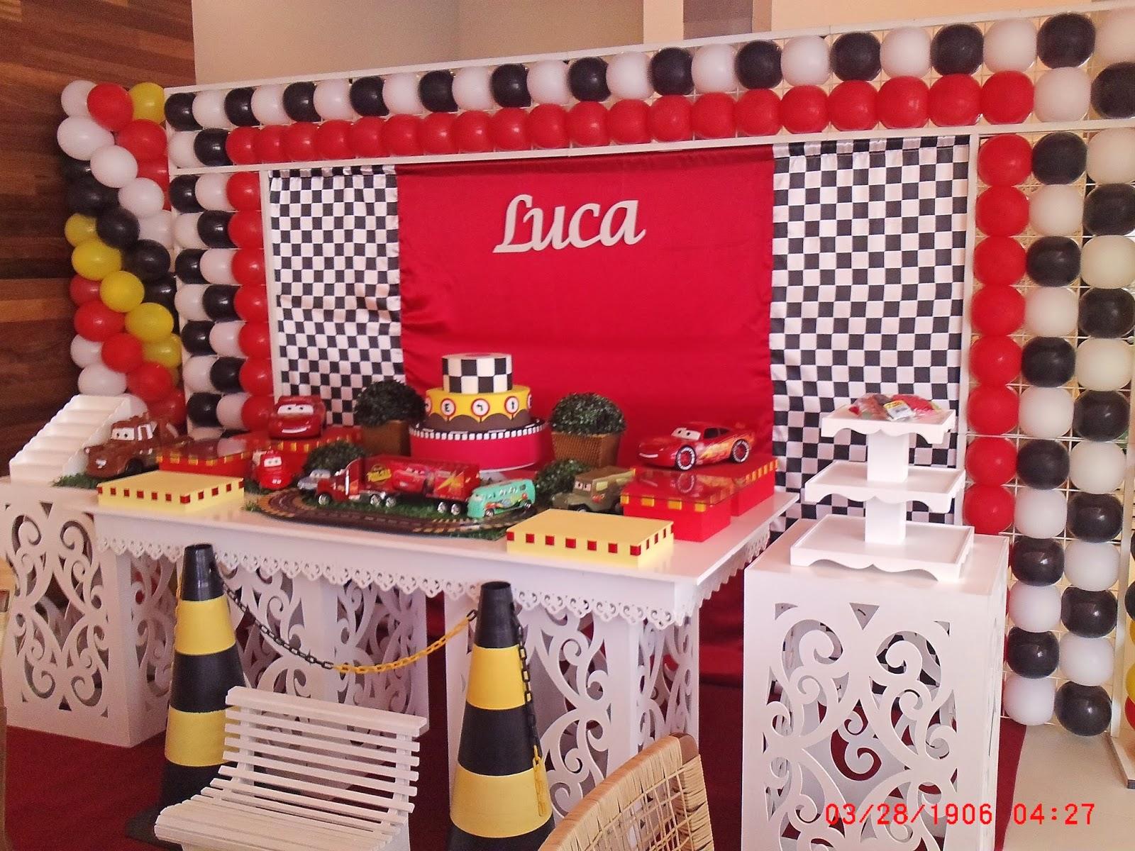 decoração festa infantil  Claudia Hayasida  Londrina  PR carros da disney
