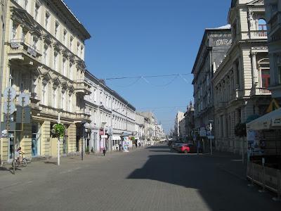 via Piotrkowska Lodz Polonia