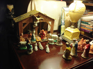 The Animals at the Manger