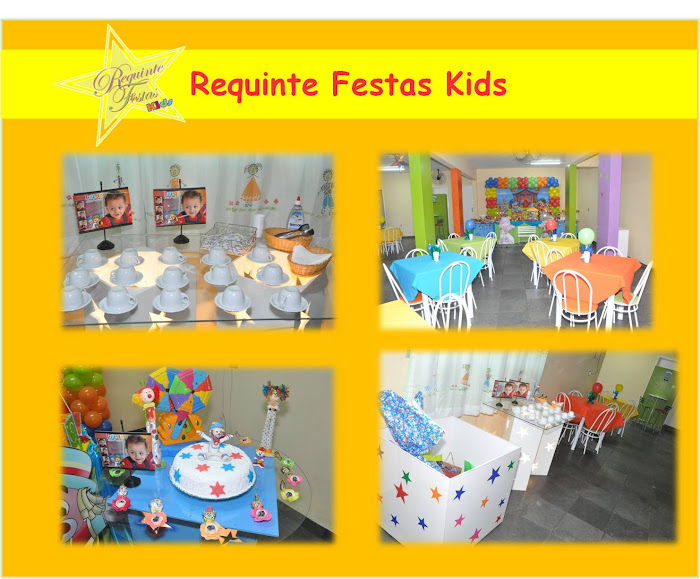 Festas Realizadas no Requinte Kids