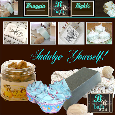Share The Love Blogger's Unite- Featured Artisan Braggin' Rights Bath!