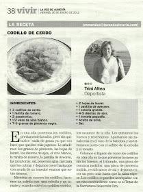 La Voz de Almería 20 de Enero 2012