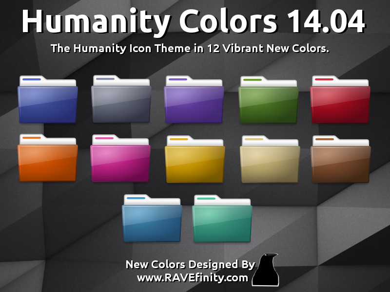 http://www.ravefinity.com/p/humanity-colors-icon-theme.html