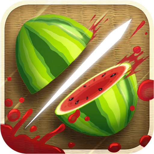 fruit ninja games cools fruit