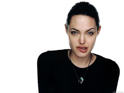 Angelina Jolie Sexy HD Wallpaper
