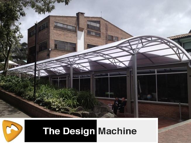 Arqui techos y cubiertas grandes superficies bogota for Cubiertas para techos livianas
