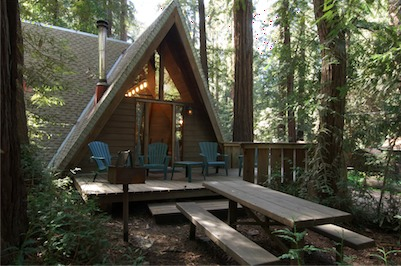 More Rustic Than Glen Oaks   With A Mix Of Campsites, Tent Camps And Small  Creek Side Cabins   Big Sur Campground And Cabins Can Offer You Shelter For  As ...