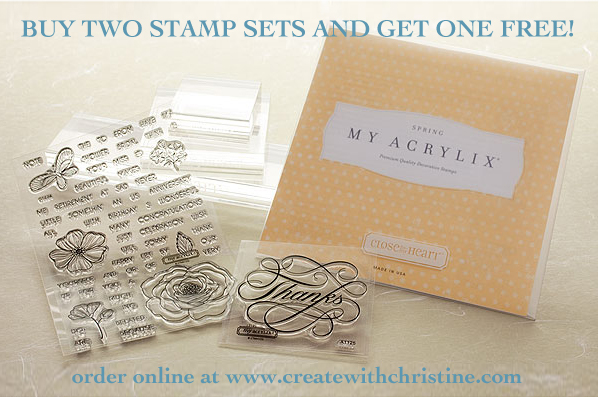 Stampaganza - Buy two CTMH stamp sets in June, Get one free
