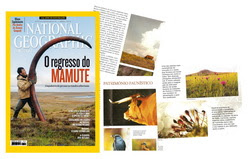 Colaborao Fotogrfica com a revista NATIONAL GEOGRAPHIC PORTUGAL