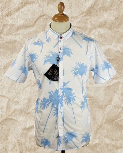 Luke 1977 Selleck 70s Retro Hawaiian Shirt