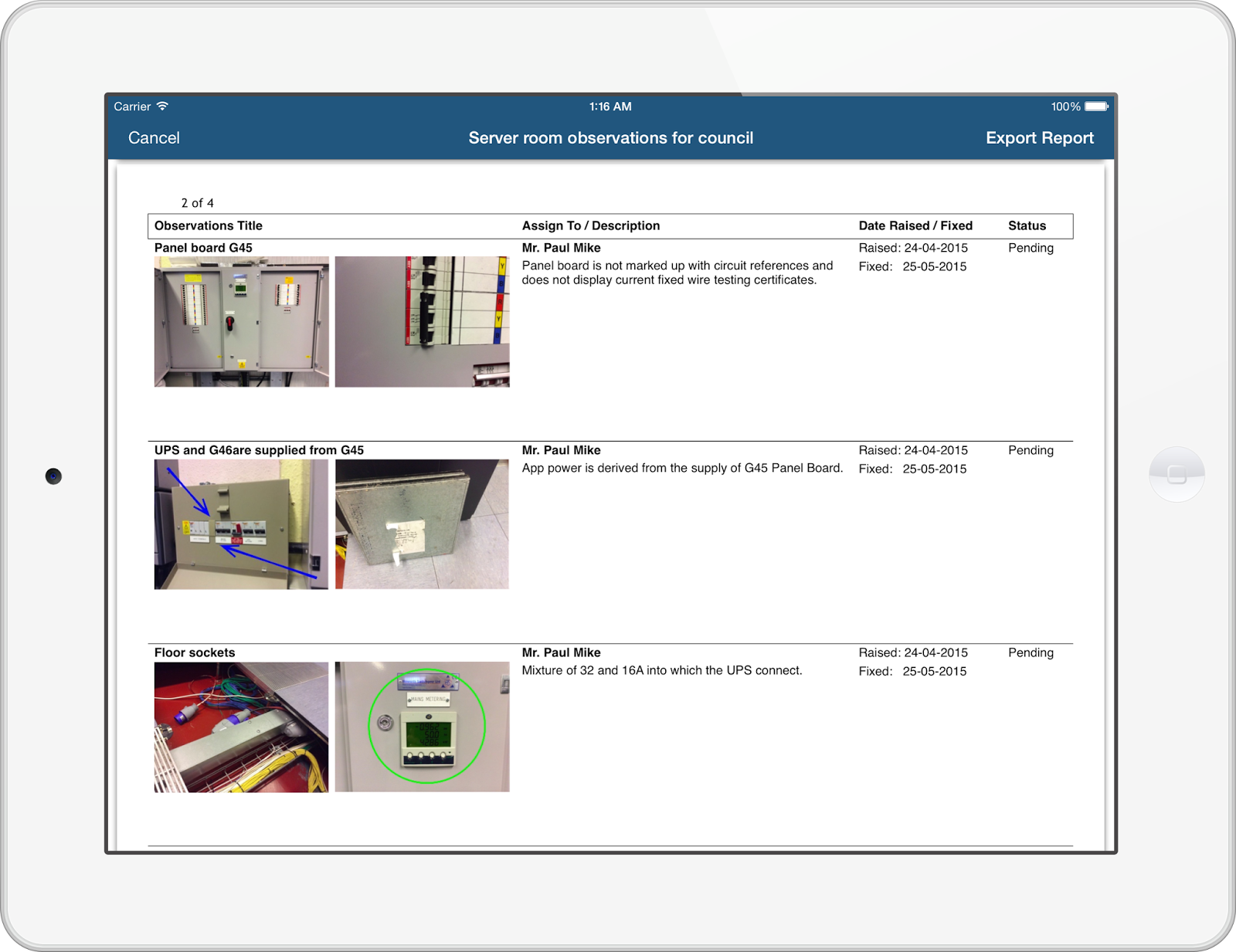 AuditBricks Auditing Snagging and Punch List Tool for Site – Punch List
