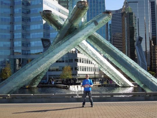 Olympic Cauldron sculpture Vancouver