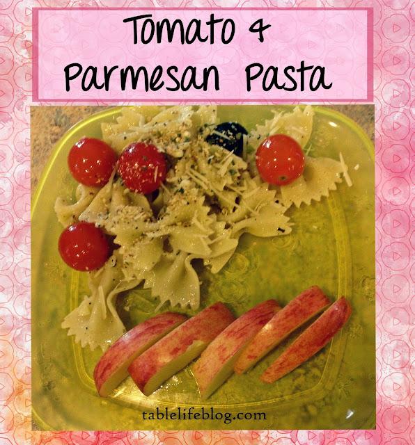Recipe Roundup - Lunchtime Favorites - Tomato & Parmesan Pasta