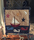 Down By the Sea Table Stand quilt