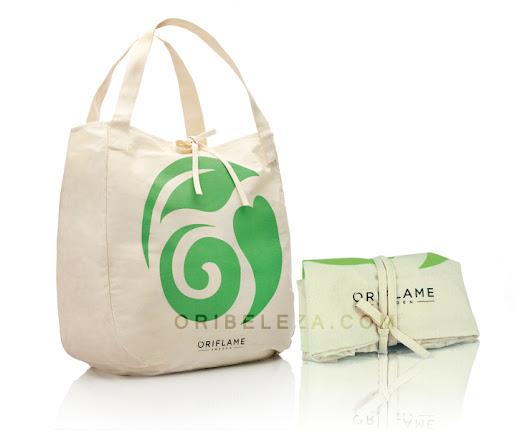 Saco de Compras Ecobeauty da Oriflame