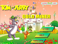 tom y jerry gold miner