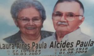 LAURA AIRES PAULA E ALCIDES PAULA