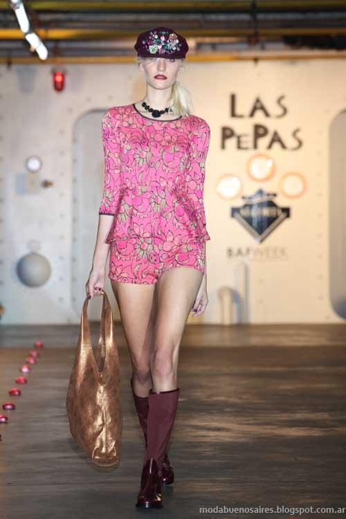 Bafweek Las Pepas otoño invierno 2013 Moda Argentina