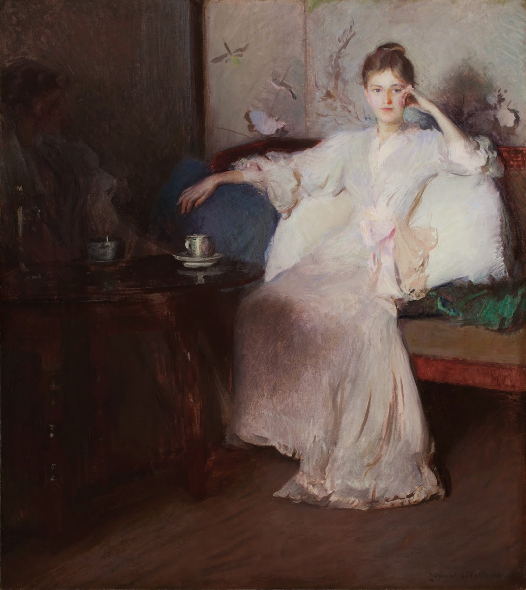 Arrangement in Pink and Gray (Afternoon Tea), 1894 Edmund Charles Tarbell (American, 1862–1938) Gift of Howard Freeman, in honor of Esther Freeman, 1995.73
