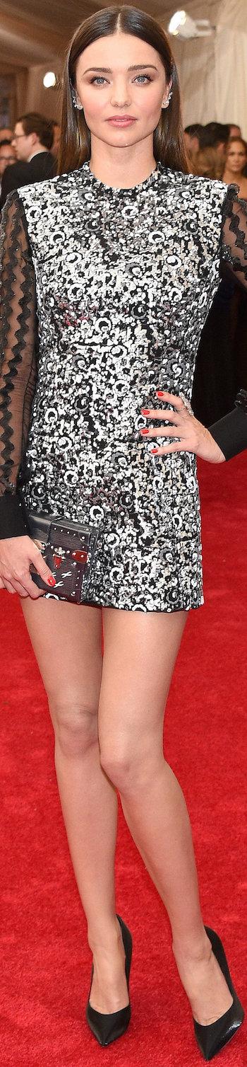 Miranda Kerr in Louis Vuitton 2015 MET Gala
