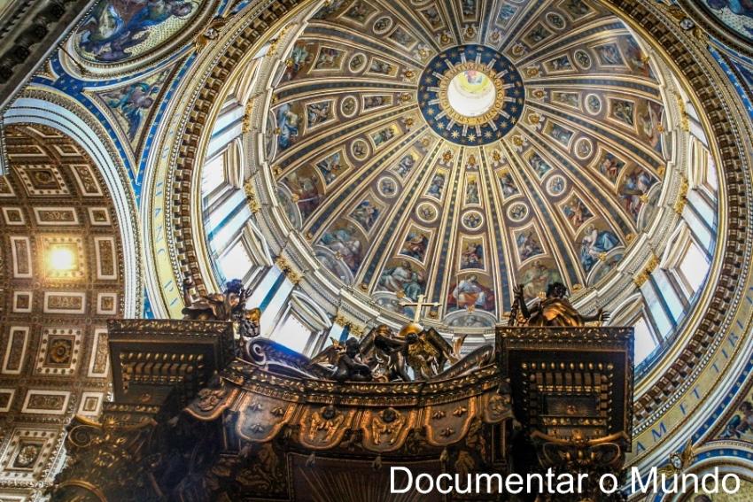 Cúpula da Basílica de São Pedro; Vaticano