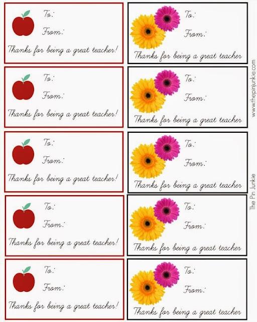 printable teacher gift tags