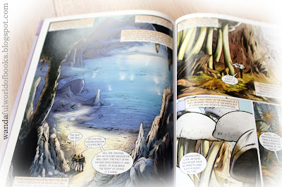 Journey to the Center of the Earth Graphic Novel by Campfire