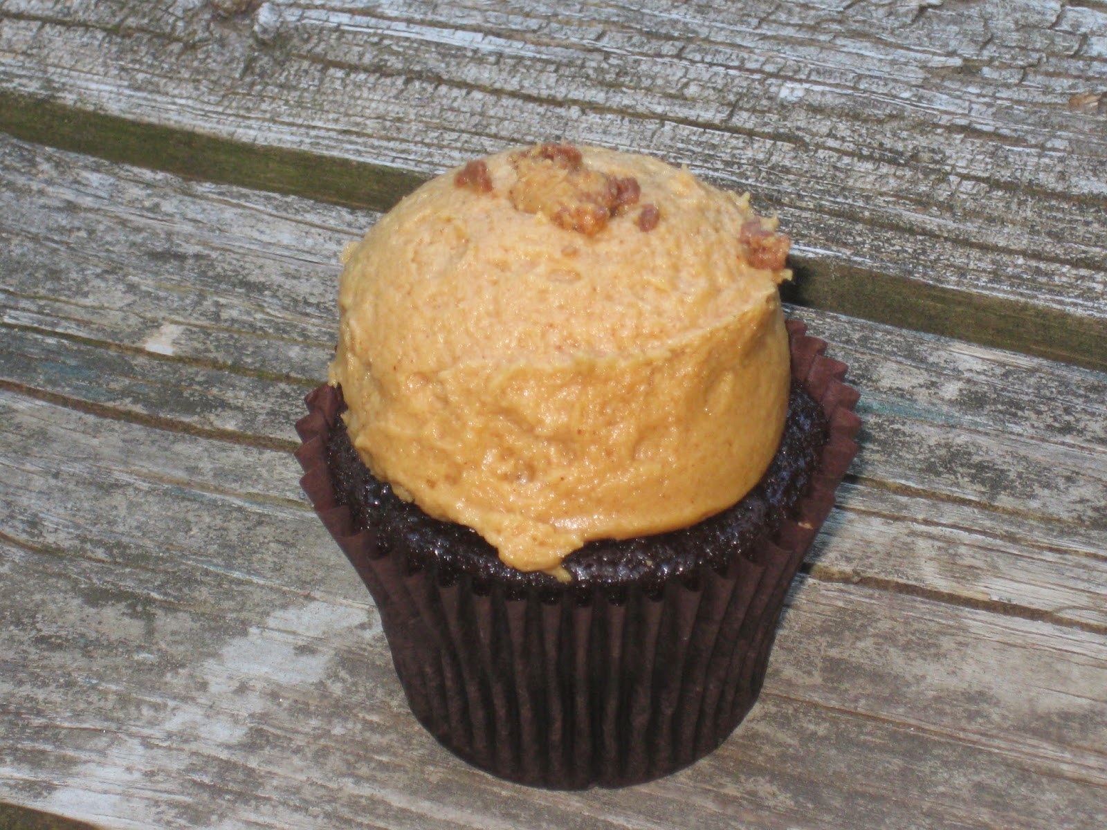 Chocolate Peanut Butter Cupcake from Flavory Cupcakery