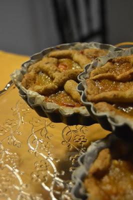 Crostatine alla frutta spalmabile di pere.. le più buone del mondo!