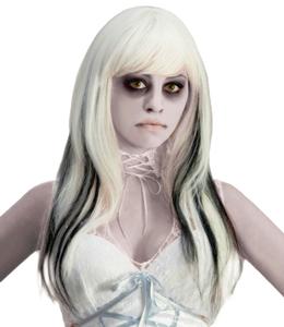 maquillaje para disfraz de fantasma sexy en halloween