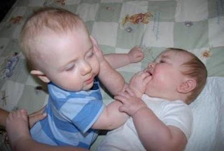 Funny Baby Fight