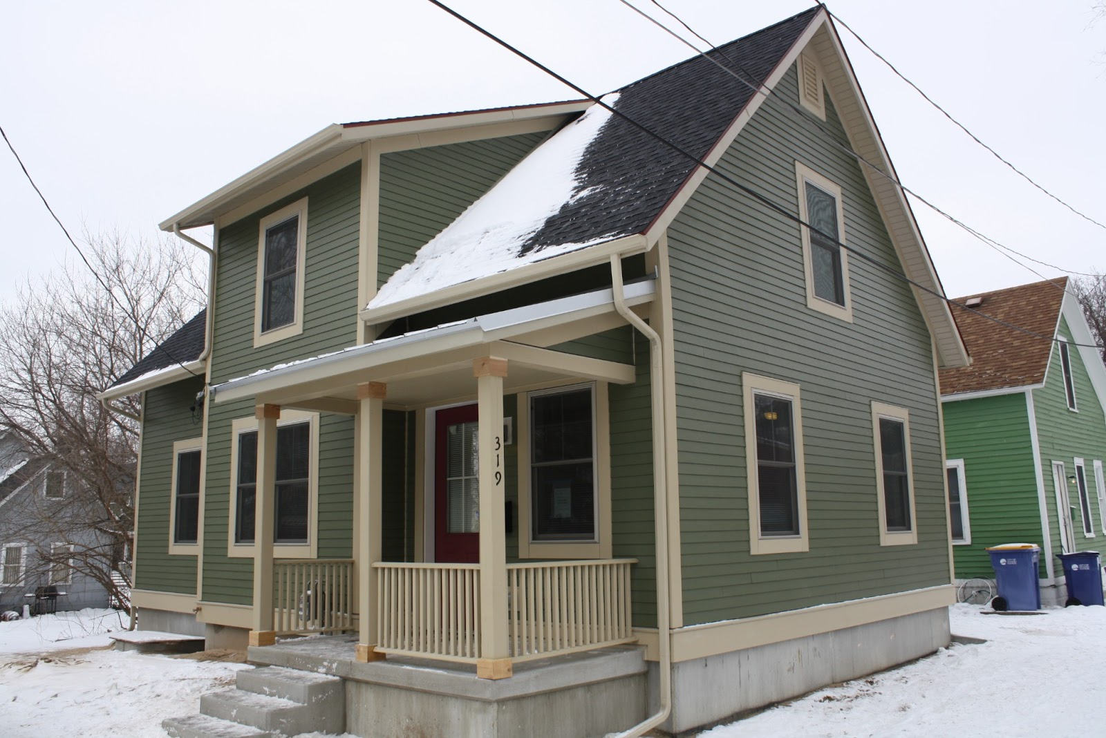 Habitat for humanity of kent county dedicates its 100th for Leed certified house plans