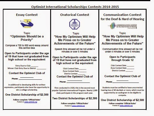 optimist international oratorical contest
