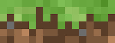 Minecraft widget header dirt