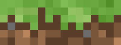 Minecraft widget header dirt