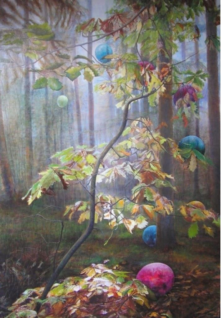 Im genes arte pinturas cuadros de paisajes comerciales - Oleos decorativos ...