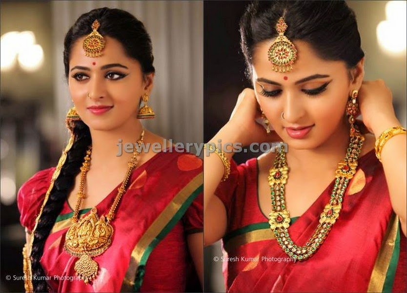 anushka pondicherry lakshmi jewellers photoshoot