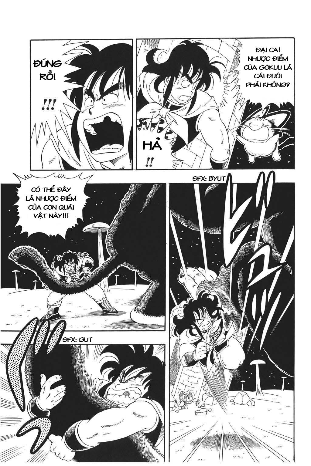 TruyenHay.Com - Ảnh 24 - Dragon Ball Bản Gốc Tiếng Anh Chapter 22